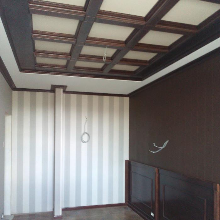 Кессонный потолок и стеновые панели