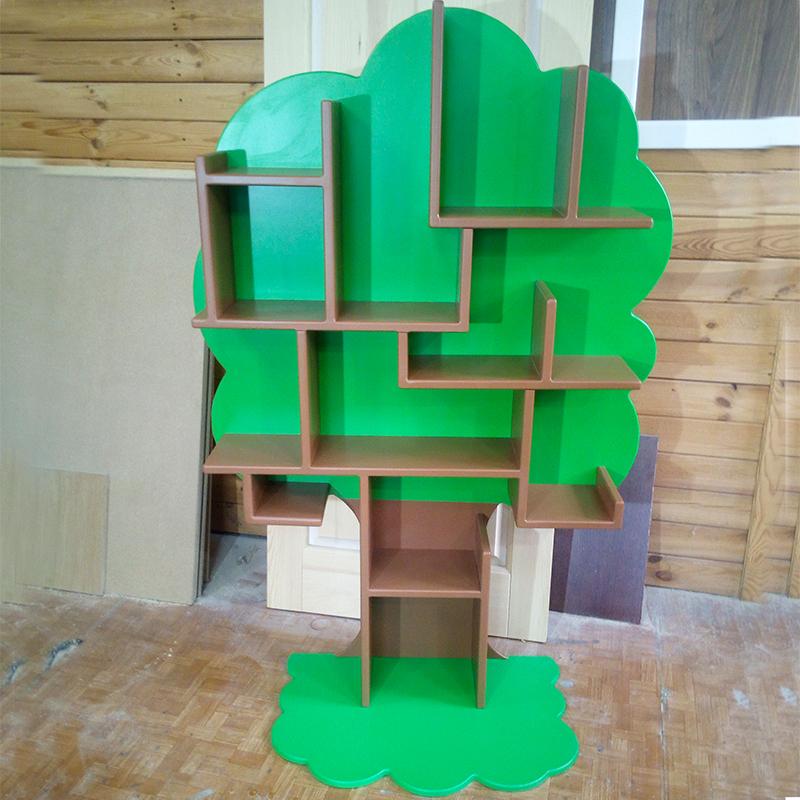 Полка-дерево (фанера и сосна)